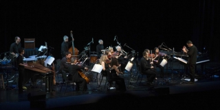 A picture of the full orchestra